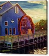 Port Orleans Riverside Canvas Print