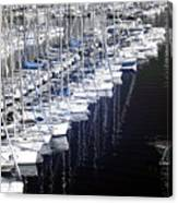 Port Parking Canvas Print