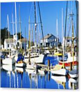 Port Townsend Harbor Canvas Print
