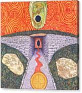 Portal Of The Celtic Goddess Canvas Print