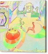 Portals And Perspectives Canvas Print