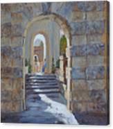 Portals At Vizcaya Canvas Print