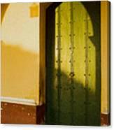 Porte Verte Canvas Print