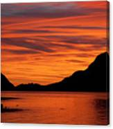 Porteau Cove Glow Canvas Print
