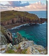 Porth Loe Cornwall At Sunrise Canvas Print