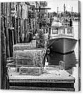 Portland Dock Canvas Print