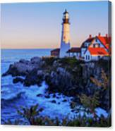 Portland Head Light II Canvas Print