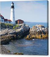 Portland Head Lighthouse Portland Me Canvas Print