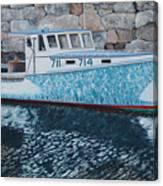 Portland Lobster Boat Canvas Print