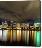 Portland Nightscape Canvas Print