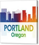 Portland Or Canvas Print