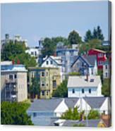 Portland Rooftops Canvas Print