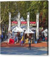 Portland Saturday Market Canvas Print