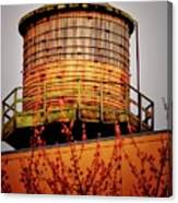 Portland Water Tower IIi Canvas Print