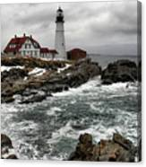 Portlandhead Lighthouse Canvas Print