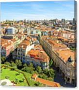 Porto Panorama Skyline Canvas Print
