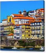 Porto Rising Canvas Print