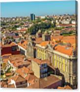 Porto Skyline Portugal Canvas Print