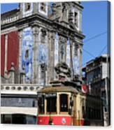 Porto Trolley 1 Canvas Print