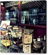 Portobello Road London Junk Shop Canvas Print