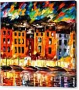Portofino - Liguria Italy Canvas Print