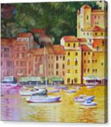 Portofino Afternoon Canvas Print