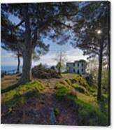 The House Of The Rising Sun In Portofino Canvas Print