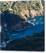 Portofino San Fruttuoso Bay Canvas Print