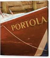 Portola Canvas Print