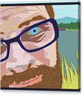 Portrait At Lake Junaluska Canvas Print