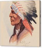 Portrait Of A Chief Canvas Print
