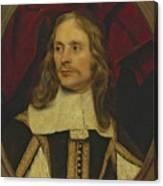 Portrait Of A Gentleman Canvas Print