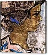 Portrait Of A Girl Pog2 Canvas Print