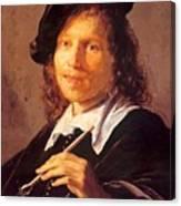 Portrait Of A Man 1640 Canvas Print