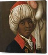 Portrait Of A Man Wearing A Turban Canvas Print
