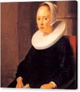 Portrait Of A Woman 1646 Canvas Print