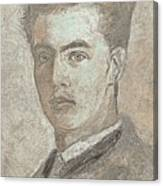 Portrait Of A Young Artist 3 Canvas Print