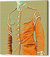 Portrait Of A Young  Wwi Soldier Series 14 Canvas Print