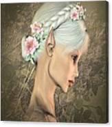 Portrait Of An Elf Canvas Print