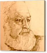 Portrait Of An Old Friend Canvas Print