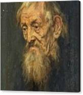 Portrait Of An Old Man 1913 Canvas Print