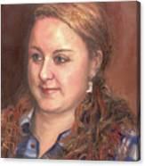 Portrait Of Andrea Canvas Print