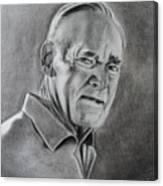 Portrait Of Bud Canvas Print