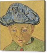 Portrait Of Camille Roulin Canvas Print
