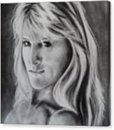 Portrait Of  Carla Canvas Print