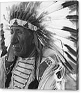 Portrait Of Chief Red Cloud Canvas Print