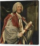 Portrait Of Dr. John Thomas Canvas Print