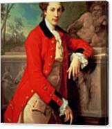 Portrait Of Edmund Rolfe Canvas Print
