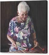 Portrait Of Edwinna Canvas Print