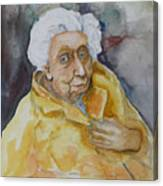 Portrait Of Eudora Welty   Canvas Print